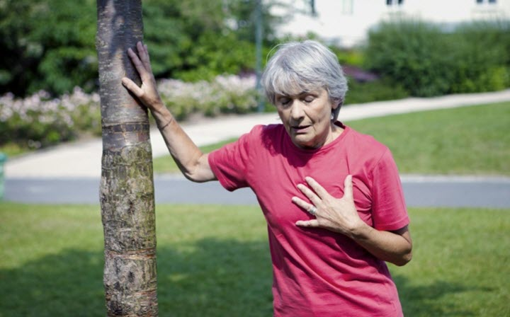 Одышка при альвеолите