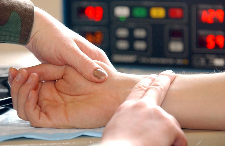 Регулярное измерение сердцебиения