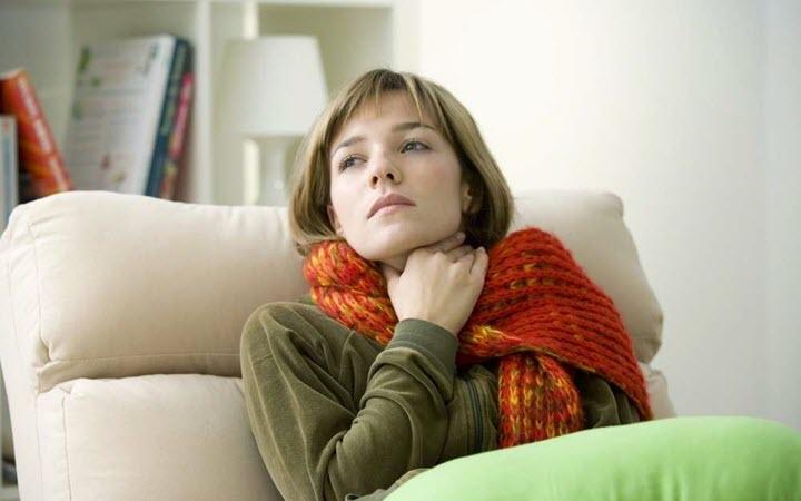 Компрессы при больном горле
