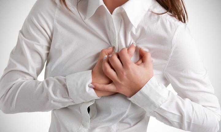 Боли в груди при миокардите