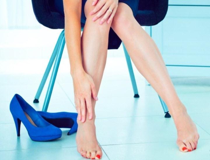 Удобная обувь - профилактика появления судорог ног