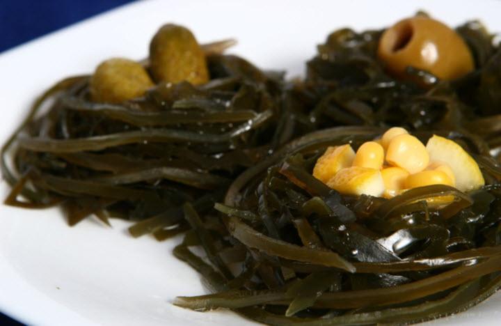 Блюда из ламинарии