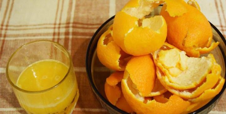 Спиртовая настойка на корках мандарина