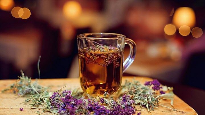 Целебный чай с чабрецом