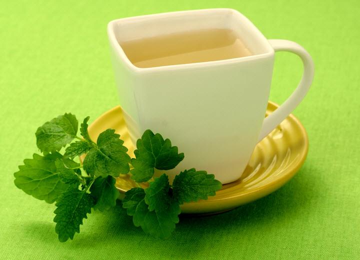 Успокаивающий чай с мелиссой