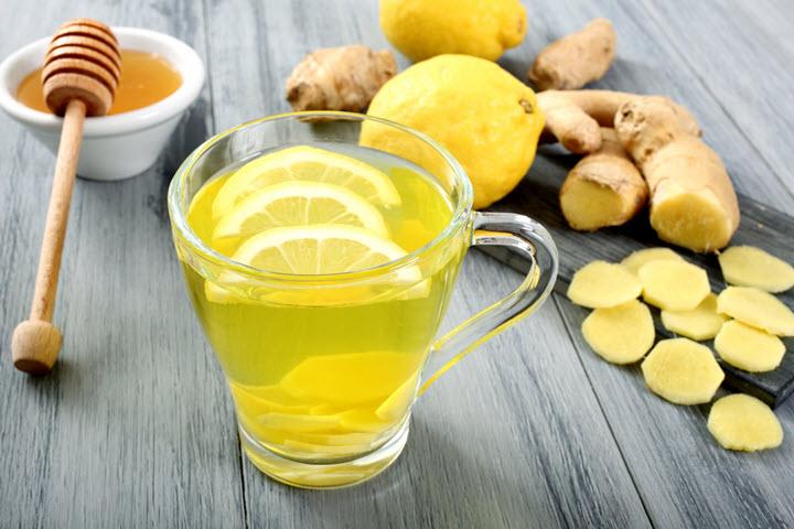 Мед, лимон и имбирь